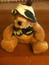 Kuddable Kakes Tan Stuffed Hunting Bear With Camoflage Vest And Hat W/Weapon