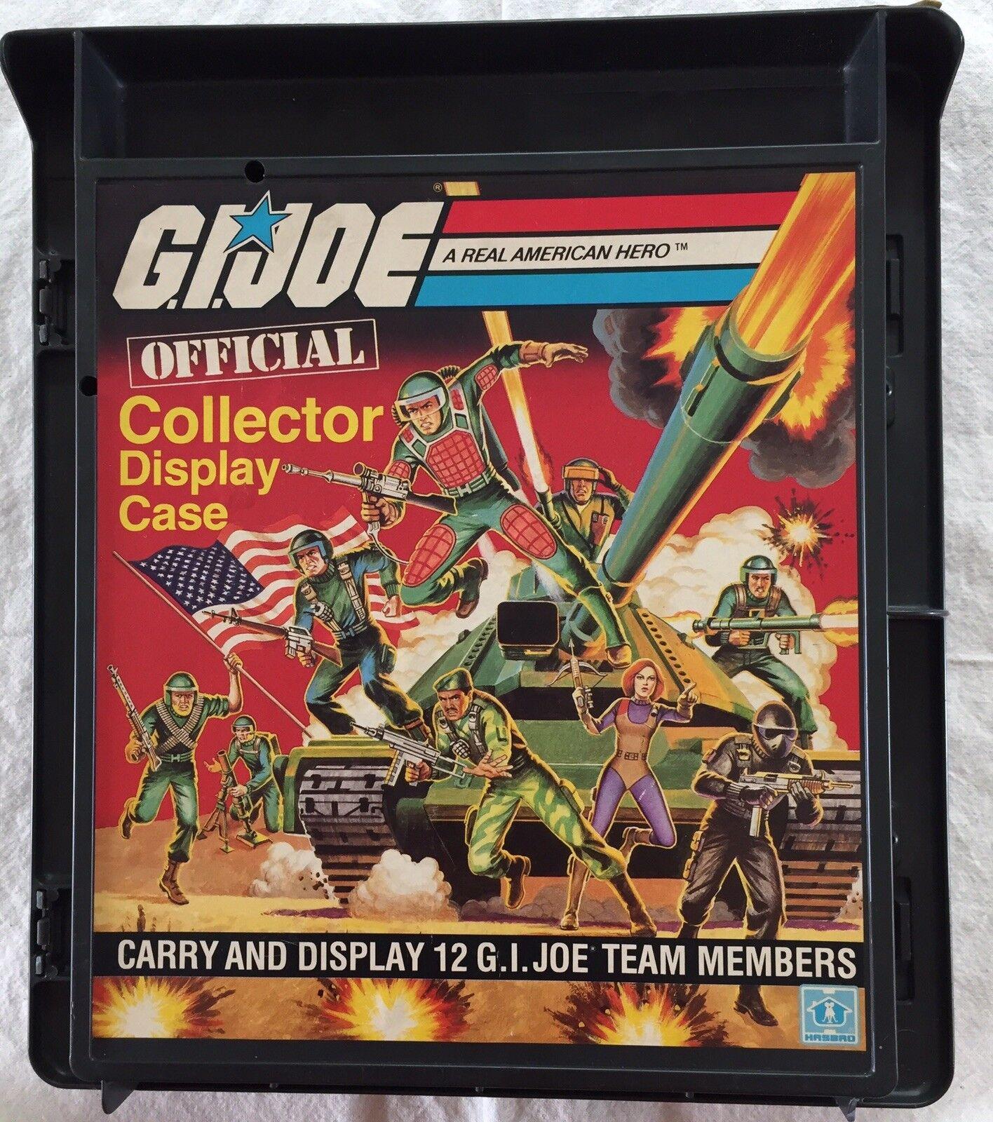 1982 G.I. JOE OFFICIAL COLLECTOR DISPLAY CASE
