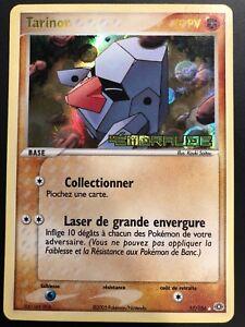 Carte-Pokemon-TARINOR-17-106-Rare-REVERSE-EMERAUDE-Bloc-EX-FR-Proche-NEUF