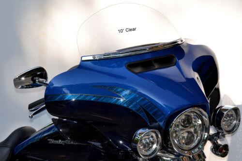 "Tri-Glide for 2014 to 2018 Harley Davidson 10/"" Windshield Street Glide"
