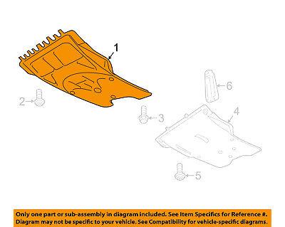 VW VOLKSWAGEN OEM 11-16 Jetta Splash Shield-Splash Shield 5C0825237D