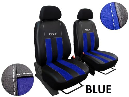 VW CRAFTER 2006 PRESENT ECO LEATHER /& ALICANTE TAILORED SEAT COVERS