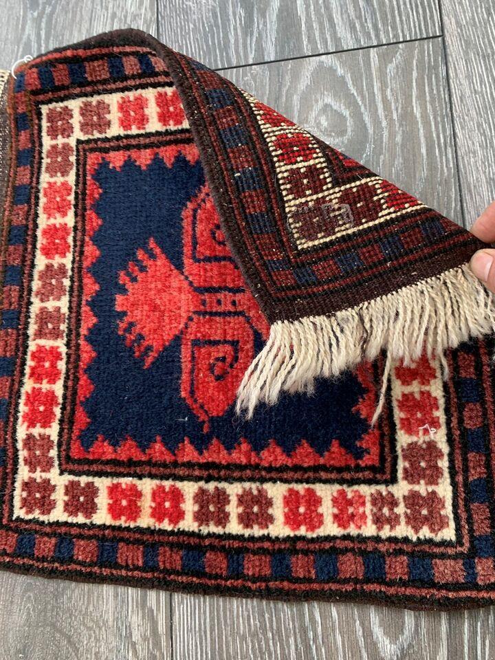 Gulvtæppe, ægte tæppe, Uld på uld