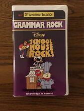 Schoolhouse Rock - Grammar Rock (VHS, 1998, Clam Shell)