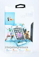 LifeProof nuud Waterproof Water Dust Proof Hard fo iPhone 6 Plus Case White USED