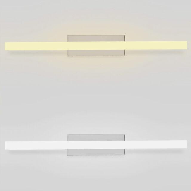 80 CM Badezimmerspiegel LED Wasserdicht Lampe Wandleuchte mit  Edelstahlsockel