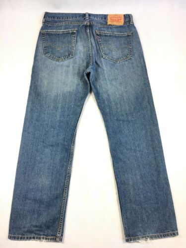 34 X 30 homme avec droite Taille 505 homme droite jambe coupe Denim Jeans Levi's ZqPOF7f6O