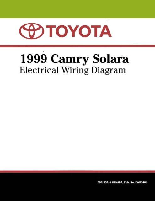 oem repair maintenance wiring schematics bound for toyota camry solara 1999