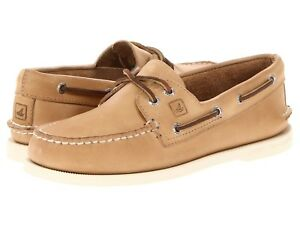 Sperry Top-Sider Authentic Original Mens Oatmeal Boat Shoes