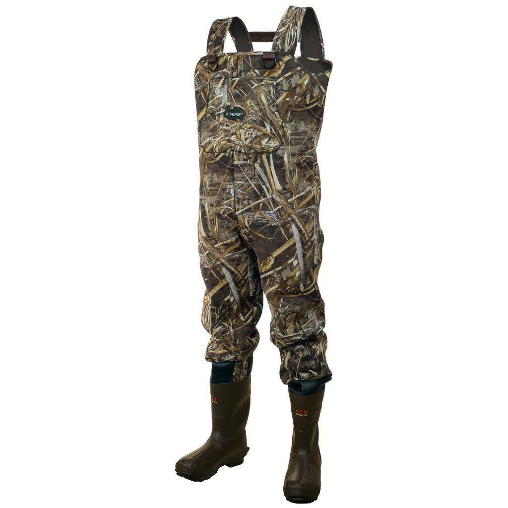 Frogg Toggs Amphib 3.5 Neoprene Realtree Max-5 Bootfoot Chest  Waders  wholesale cheap