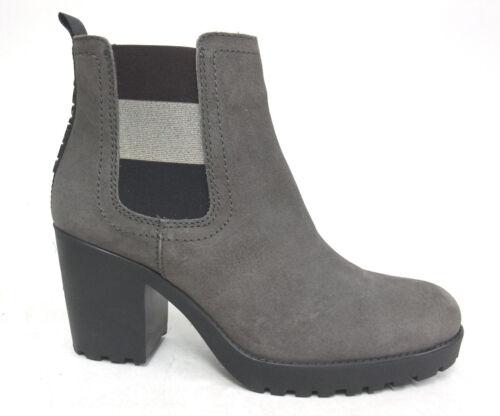 Tommy Jeans Essential Mid talon Bottines Chelsea Boots Neuf Véritable Cuir Hilfiger