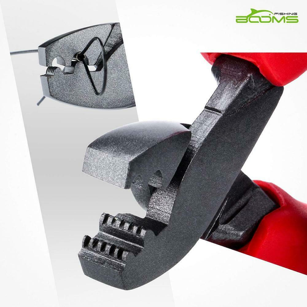 Booms Fishing CP1 Fishing Crimping Pliers Tools for Crimp Sleeves 0.1mm-2.2mm,3