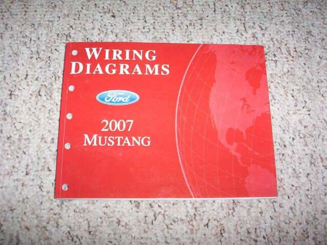 2007 Ford Mustang Wiring Diagram Manual Convertible Gt