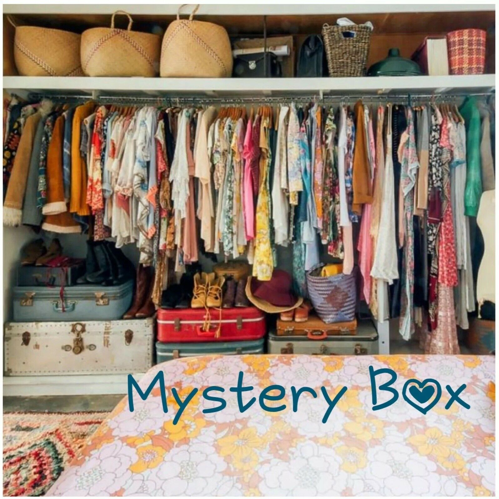 Free People 5 Piece Mystery Style Box Größe Large New