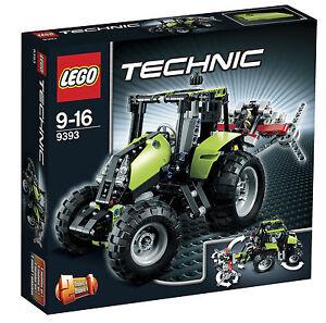 LEGO Technic Set Traktor 9393 8260 8281 mit Anleitung und OVP Sammlung LEGO Bau- & Konstruktionsspielzeug LEGO Baukästen & Sets