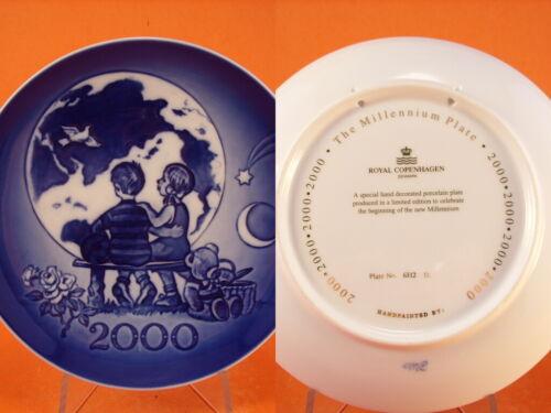 ROYAL COPENHAGEN PIATTO DEL MILLENNIO 2000
