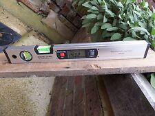 Digitale Angolo Finder 400mm Metro Goniometro Livella a bolla +4 Magneti Forti
