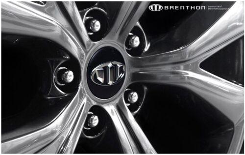 Brenthon Emblem Full Set Grille Trunk 1Set-7ea For 2017 Hyundai Santa Fe Sport