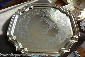 Towle-square-034-25th-034-tray-beautiful-decorations-12-034-by-12-034