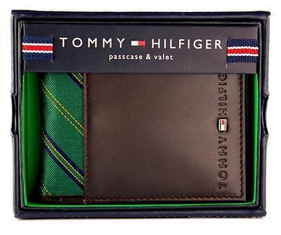 NEW TOMMY HILFIGER MEN'S PREMIUM LEATHER CREDIT CARD ID WALLET BILLFOLD 4272/02
