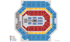 2 Tickets WWE Monday NIght Raw 8/21 Lower 8 Row 17 Barclays Center, Brooklyn, NY