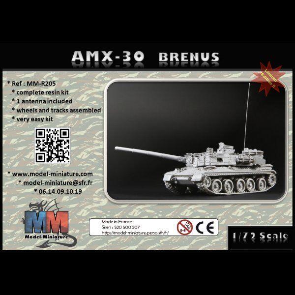 AMX-30 Brenus, char français, Model Miniature,1 72