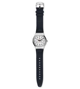 Orologio-Swatch-SISTEM-PUZZLE-IRONY-YIS408-AUTOMATICO-watch-uomo-PELLE-NERA