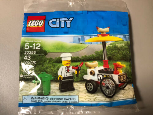 LEGO CITY HOT DOG STAND 30356 *BRAND NEW*
