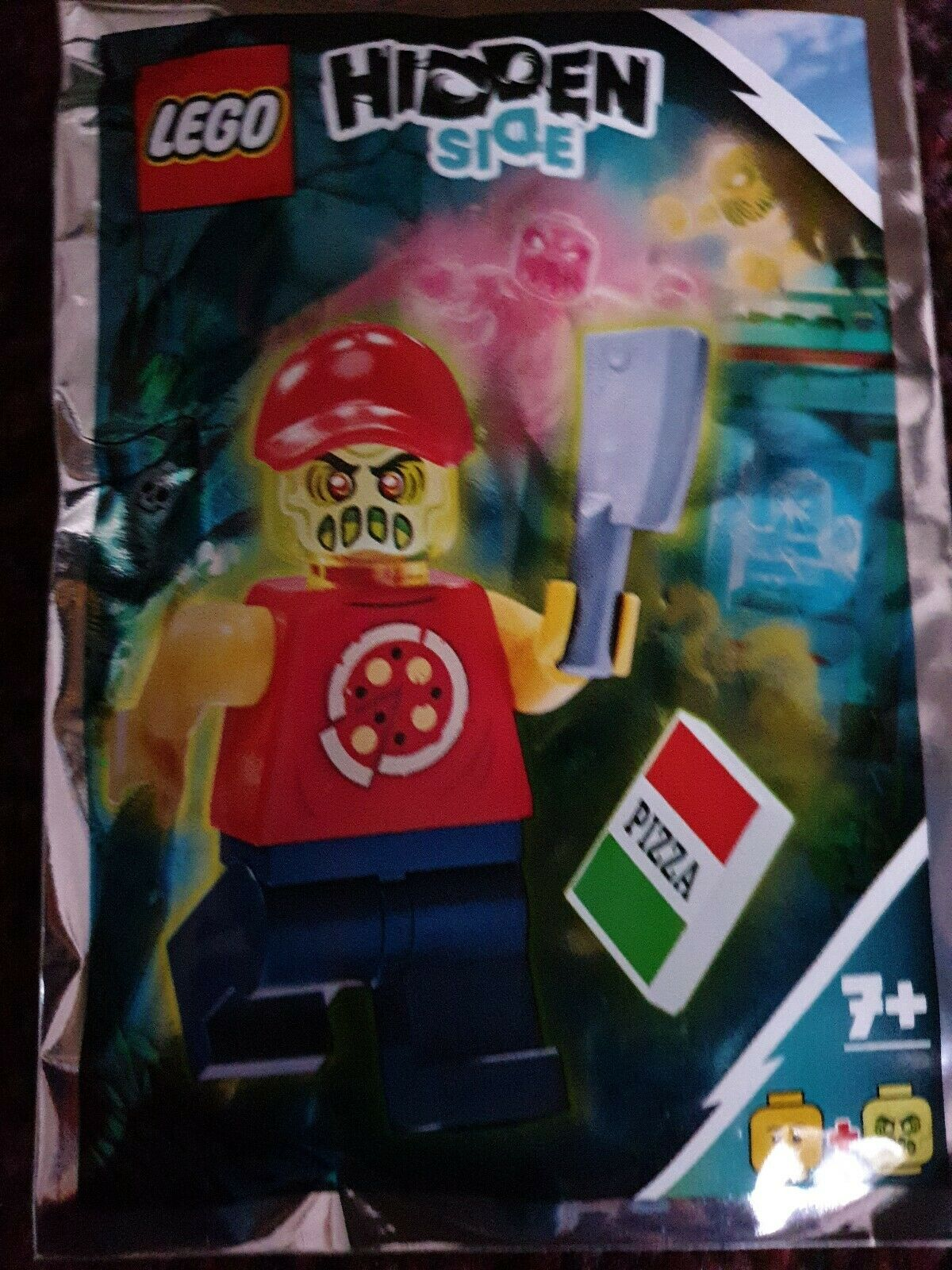 791902 ORIGINAL LEGO Hidden Side Possessed Pizza Delivery Man Minifigure