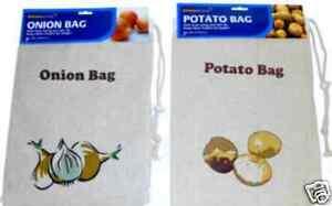 Brand-New-Potato-Onion-Vegetable-100-Cotton-Black-Out-Storage-Bag