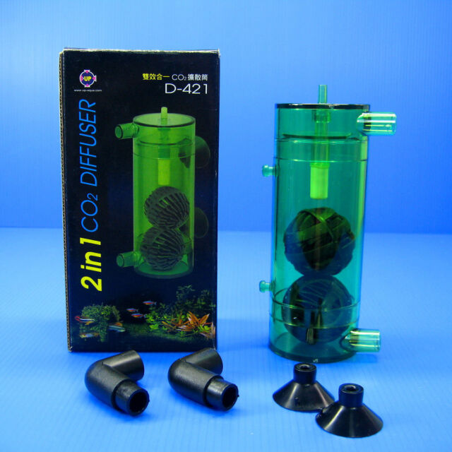 2 in 1 Co2 Diffuser Atomizer Plant 40 120l Fish Tank