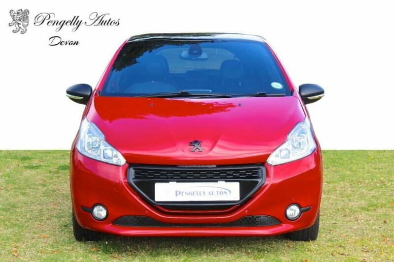 Red Peugeot 208 1.6 THP GTi 3-Door with 75000km available now!