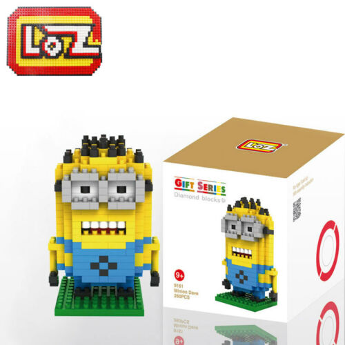 9161 MINI LOZ Diamond Blocks Assembly DIY Kids Toys iBLOCK FUN Puzzle Minions-S