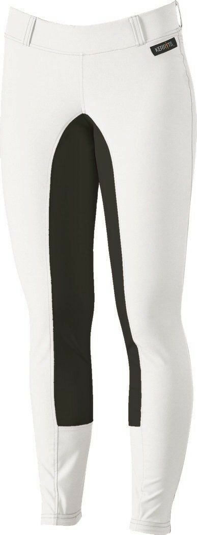 Kerrits Sit Tight Suede Full Seat Riding Breeches White Size  Small