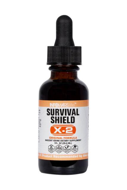 Infowars Life™ Survival Shield X-2 Nascent Iodine Liquid Drops (1 fl. oz)