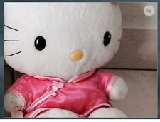 """McDonald Happy Meal Hello Kitty Chinese Costume in pink 6"""""""
