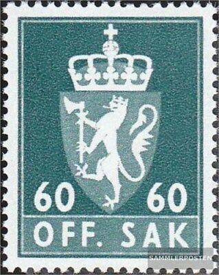 Norway Stamps Beautiful Norwegen D78x Gestempelt 1969 Dienstmarken