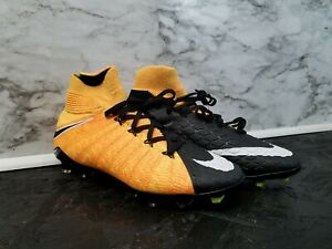 new arrival 4e4ce 40083 Details about Nike Hypervenom Phantom III DF FG Soccer Cleats Flyknit ACC  4y New 200$ MSRP