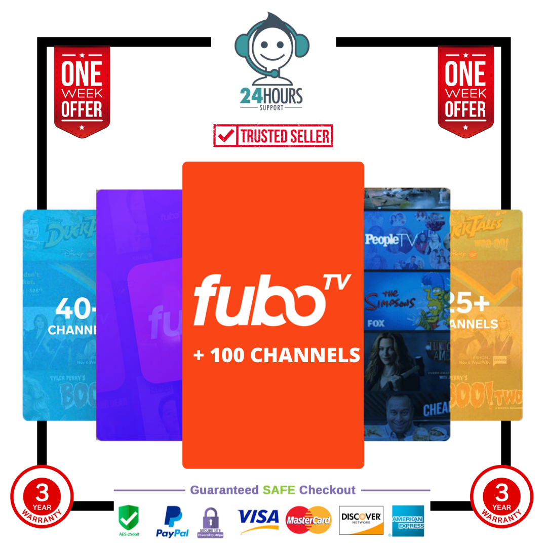 FUBO PREMIUM PACKAGE 2 YEARS WARRANTY