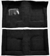 ACC *BLACK* 70-73 DUSTER DEMON DART SPORT AUTOMATIC MOLDED CARPET RUG 80/20 LOOP