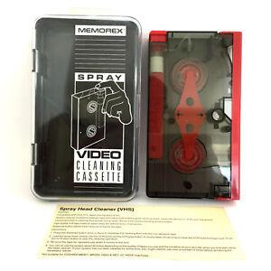 Memorex-Spray-Video-Cleaning-Cassette-Vintage-Retro