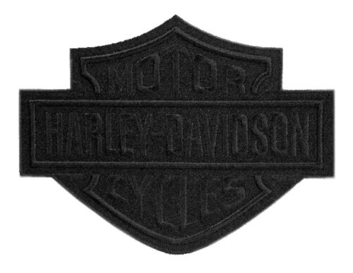 Harley Davidson Aufnäher//Patch Modell Black Bar /& Shield Größe 20,3 cm x 15,3 cm