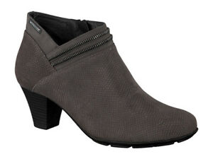 Ladies-Casual-Ankle-Boot-Mephisto-Britie-Grey-Snake-UK-Size-7