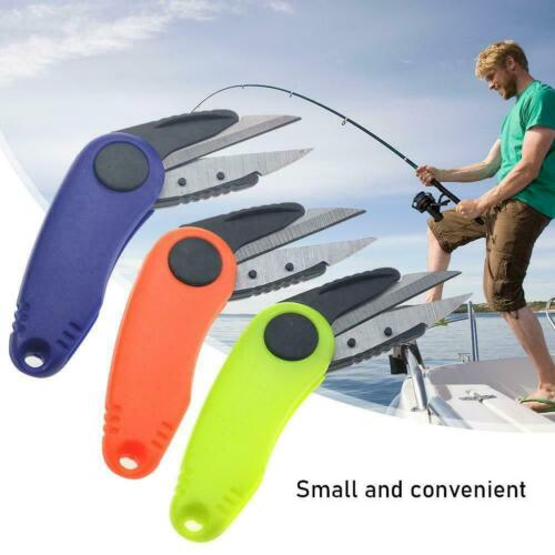 Shrimp-Shaped Stainless Steel Fish Use Scissors Accessories Fishing Folding F3G0