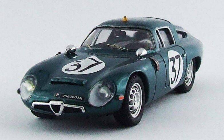MODEL BEST 9596  - Alfa Romeo TZ 1  37 test 24H du Mans - 1964 Biscaldi 1/43
