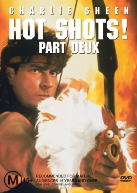 Hot Shots 02 (DVD) CHARLIE SHEEN LIKE NEW CONDITION FREE FAST POST