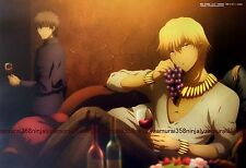 Fate/Zero / Brave 10 mini poster official anime stay night