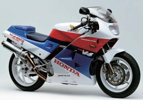 Honda VFR400R 1988 stainless front brake master cylinder reservoir cap bolts