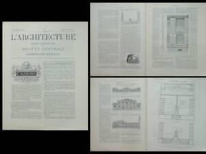 L'architecture N°5 1902 - Saint Ouen, College Josephine Baker, Maistrasse Berger Pour RéDuire Le Poids Corporel Et Prolonger La Vie