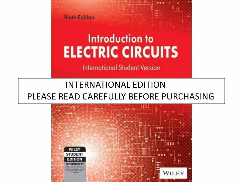 introduction to electric circuits by richard c dorf and james a